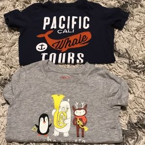 FREE with purchase 2 Boys 4t T-shirt's
